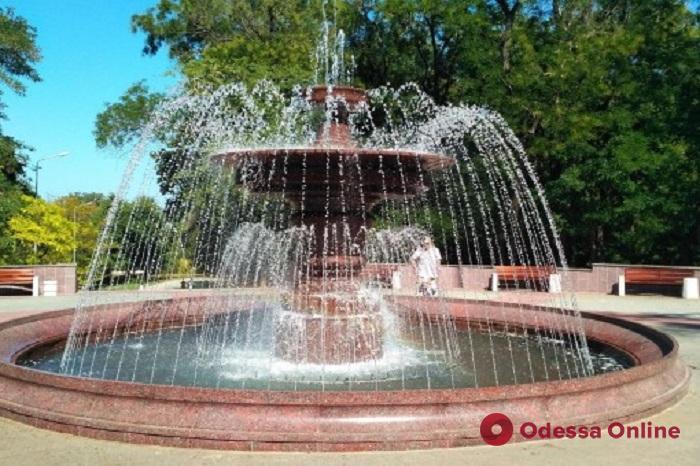 Завтра в Одессе начнется сезон фонтанов