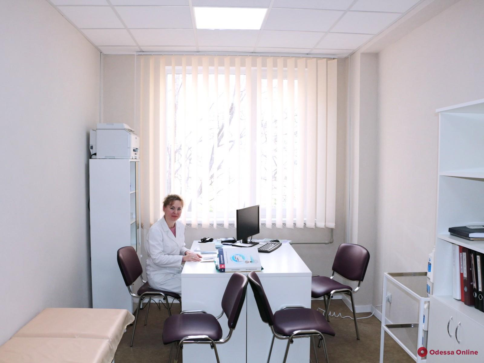 Одесса: на Левитана капитально отремонтировали семейную амбулаторию