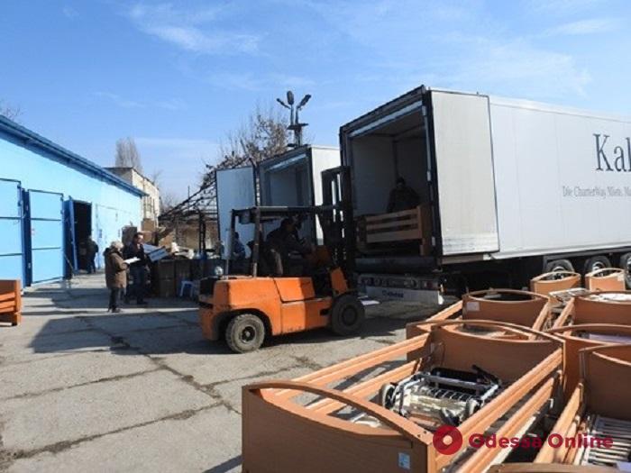 В Одессу из Германии доставили 19,6 тонн гуманитарного груза