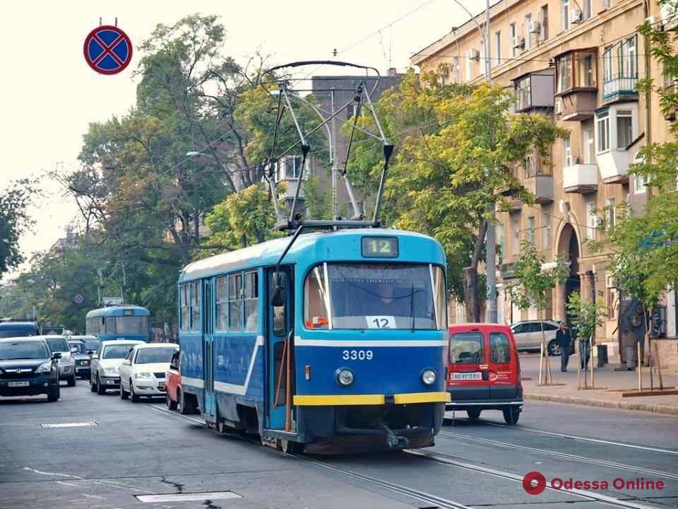 Одесса: из-за ремонта улицы Софиевской трамваи будут ходить иначе