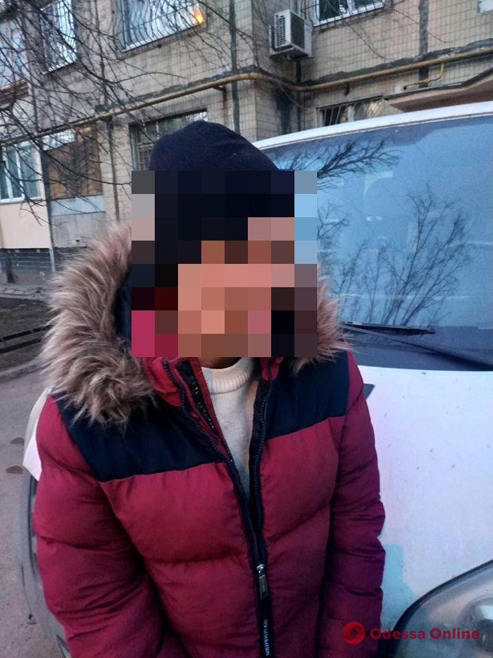 Одесские полицейские задержали насильника