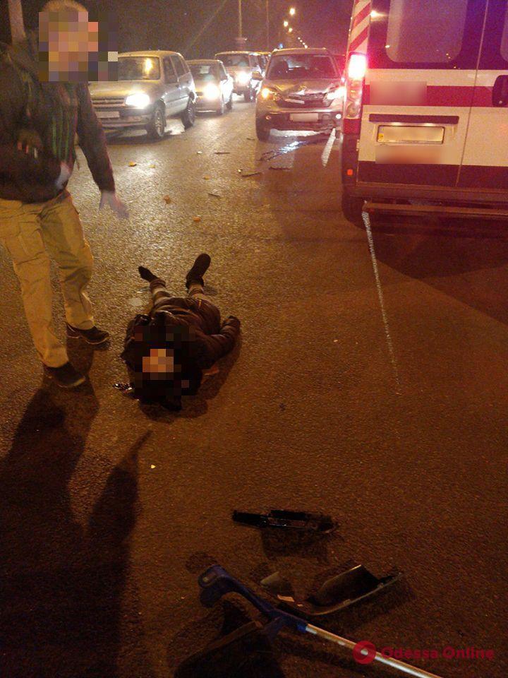 В Одессе водитель авто Honda сбил попрошайку