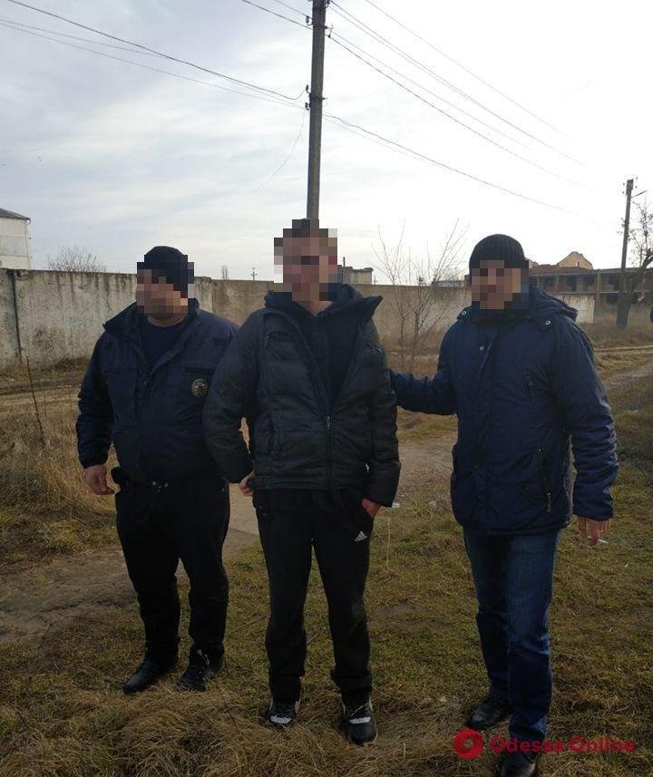 В Одесской области задержали грабителя