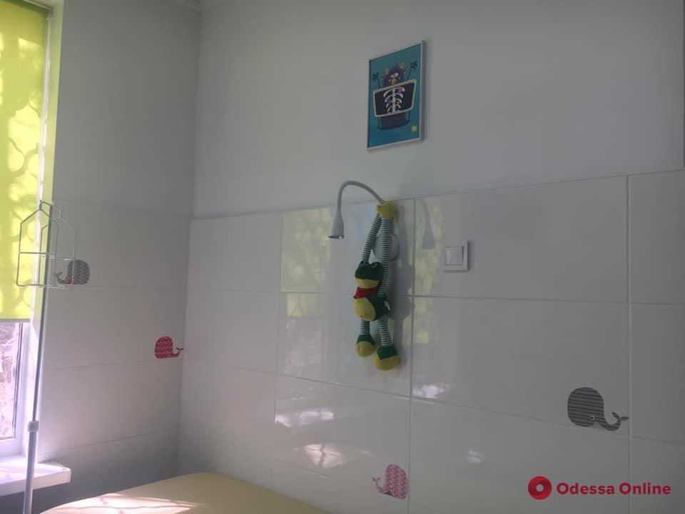 В Одессе отремонтировали манипуляционный кабинет для маленьких пациентов