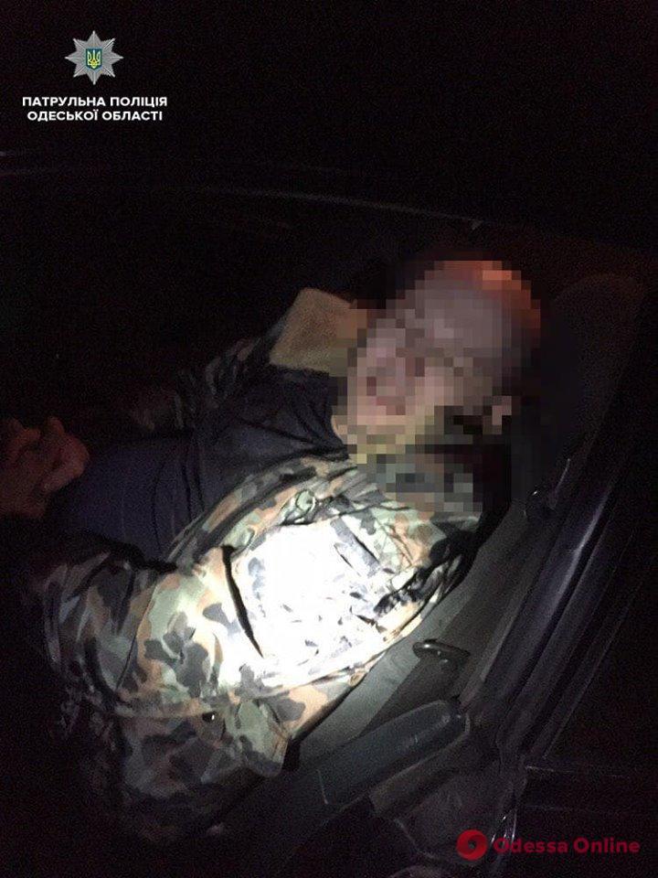 Патрульные спасли впавшего в гипогликемическую кому одессита