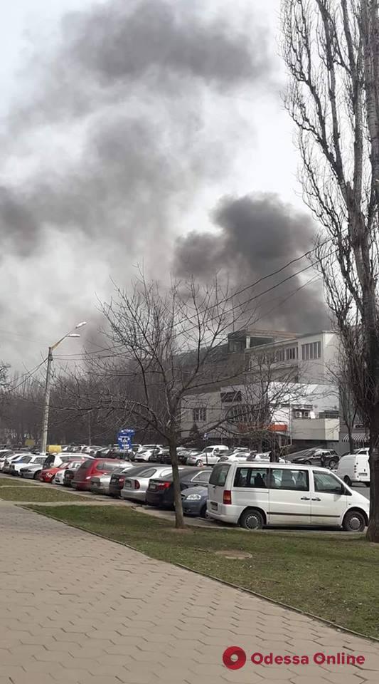 На Черемушках горел мусор — дым был виден из соседних районов