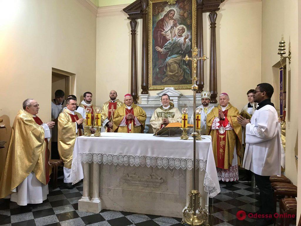 В одесском костеле состоялось торжество по случаю присвоения ему статуса малой базилики