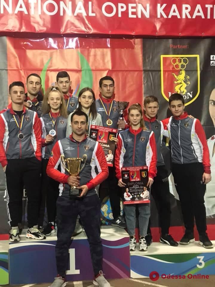 Каратэ: представители Одесской области успешно выступили сразу в двух международных турнирах
