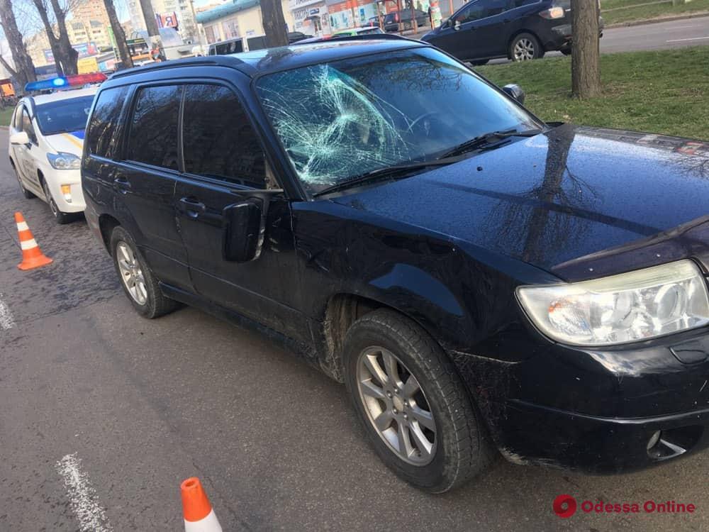 На поселке Котовского Subaru сбил женщину