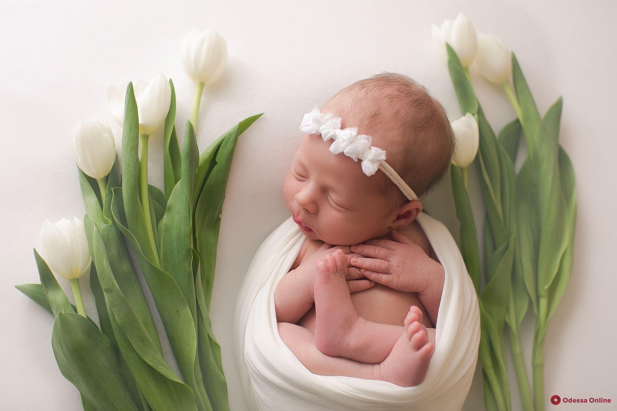 На прошлой неделе в Одессе родились 178 малышей
