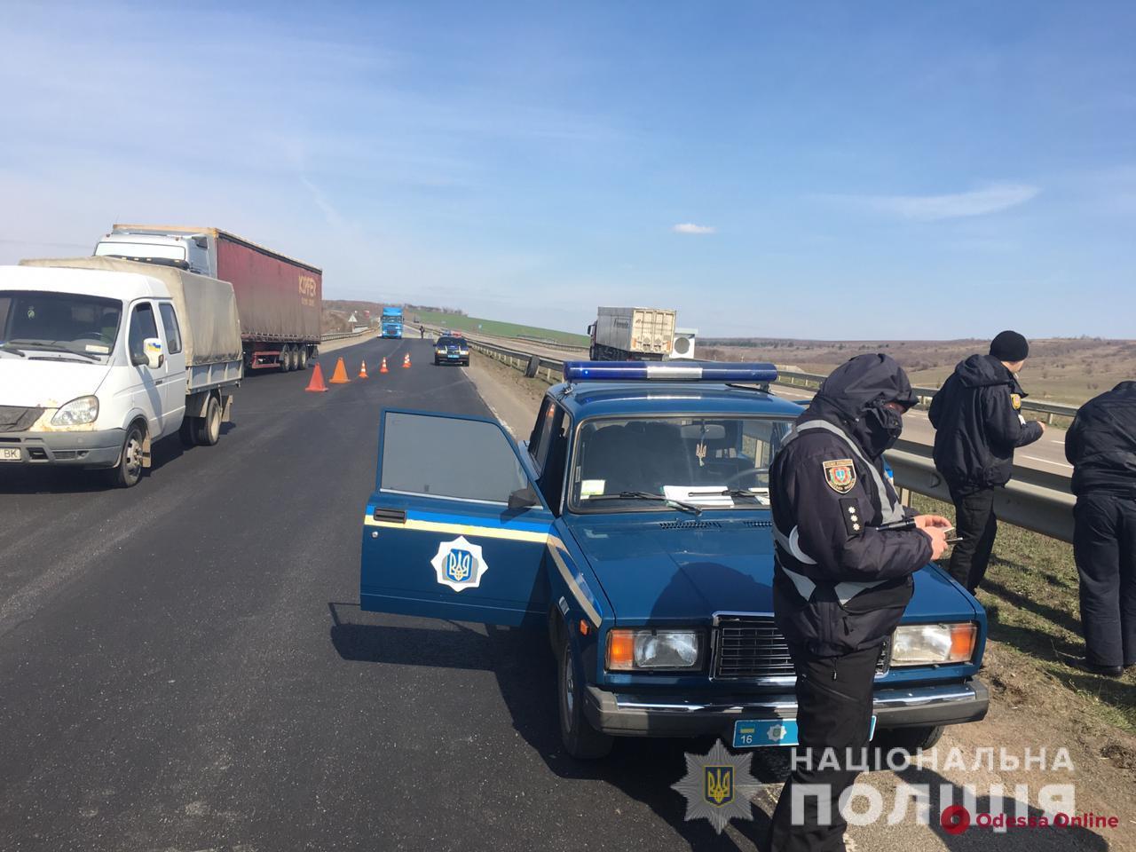 На трассе Киев — Одесса грузовик сбил насмерть работника дорожной службы