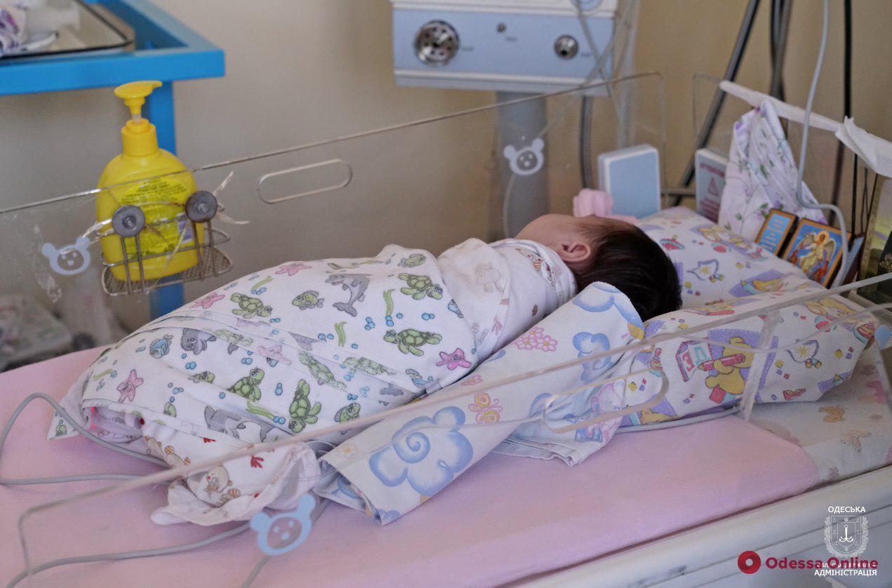 В одесской больнице отремонтировали отделение для недоношенных детей