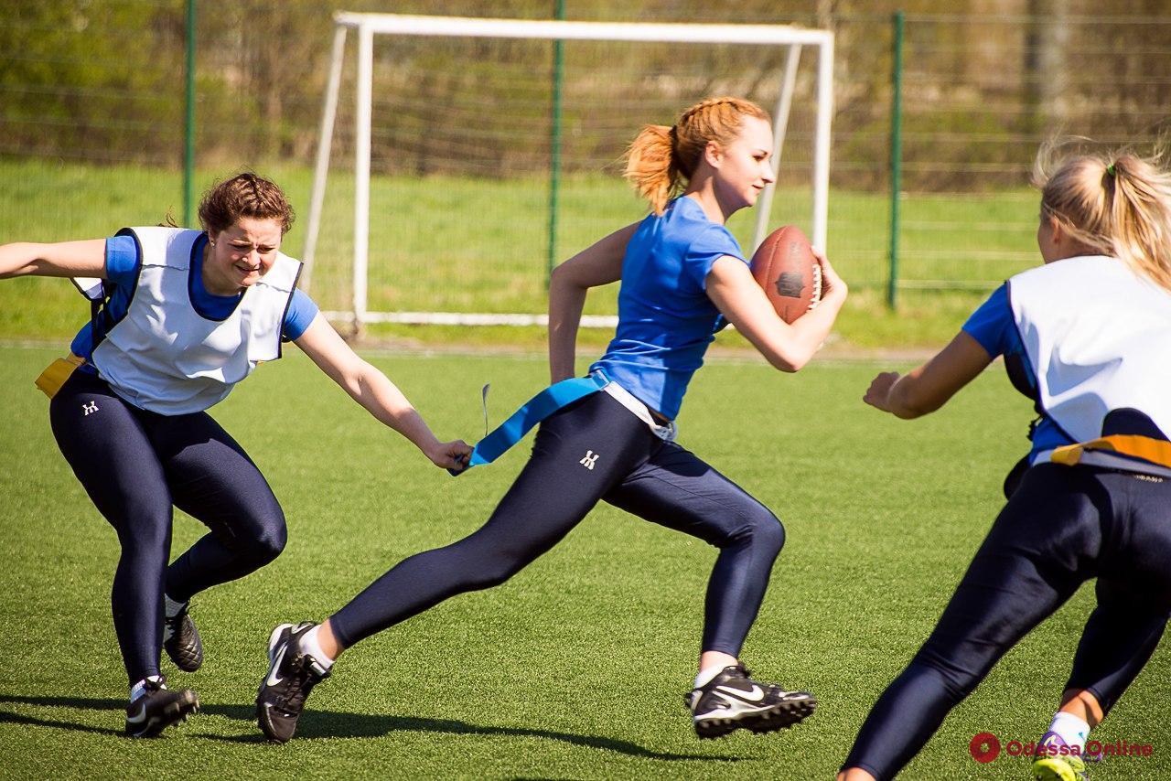 В Одессе появится женская команда по американскому футболу