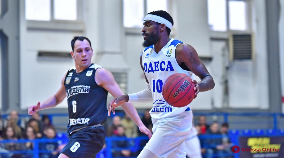 Баскетбол: «Одесса» впервые в сезоне обыграла чемпиона Украины