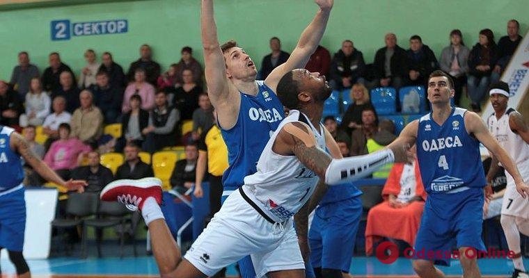 Баскетбол: «Одесса» на последних секундах проиграла в гостях чемпиону Украины