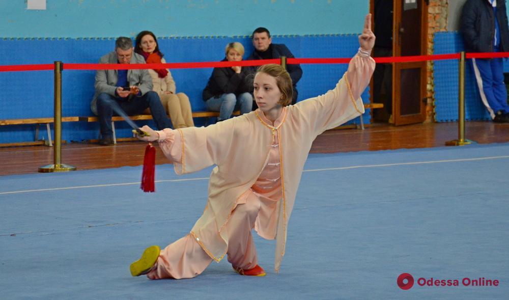 Сборная Одесской области достойно выступила на чемпионате Украины по спортивному ушу