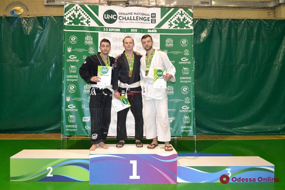 Одесситы успешно выступили во всеукраинском турнире по бразильскому джиу-джитсу