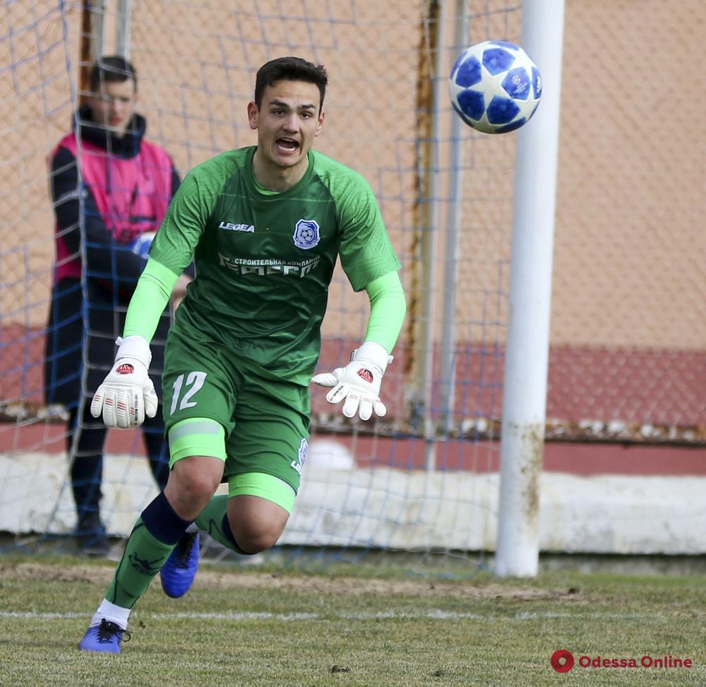 Вратарь «Черноморца» получил вызов в сборную Украины