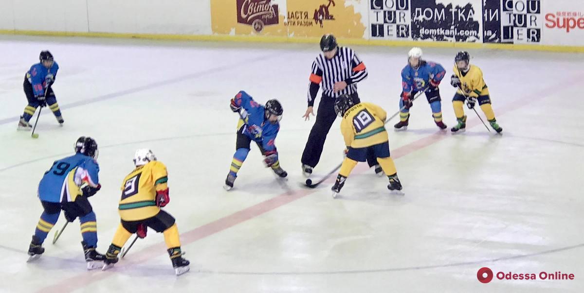 Одесские хоккеисты одержали две важнейшие победы во всеукраинском турнире