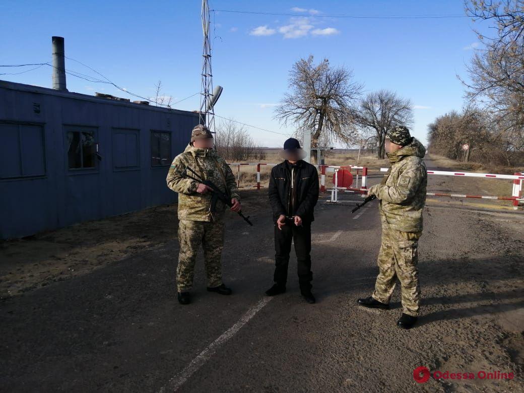 Одесская область: на границе задержали молдаванина из списка Интерпола