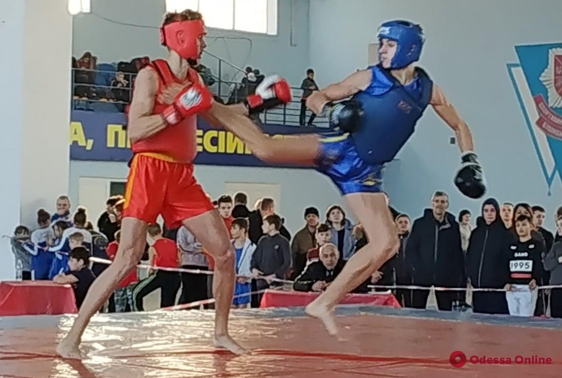 Сборная Одесской области завоевала 12 медалей чемпионата Украины по контактному ушу
