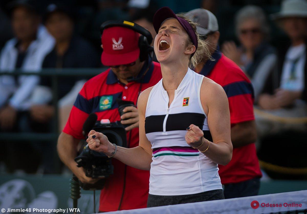 Теннис: уроженка Одессы выходит в 1/4 финала крупного турнира в Китае