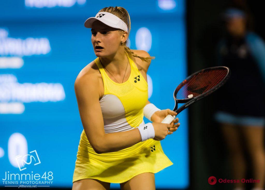 Теннис: юная одесситка неудачно дебютировала в престижном турнире в США