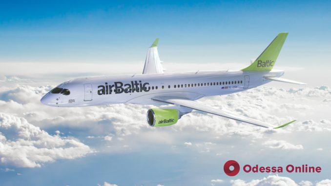 АirBaltic возобновляет авиарейсы «Одесса-Рига»