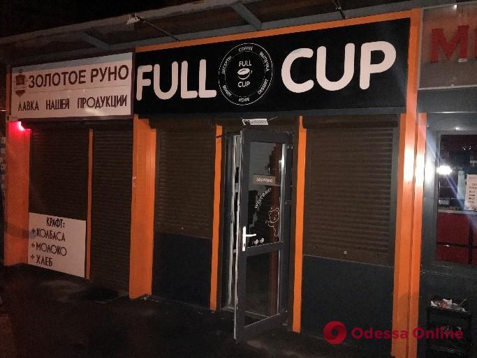 Двое одесситов ночью обокрали кофейню на Таирова