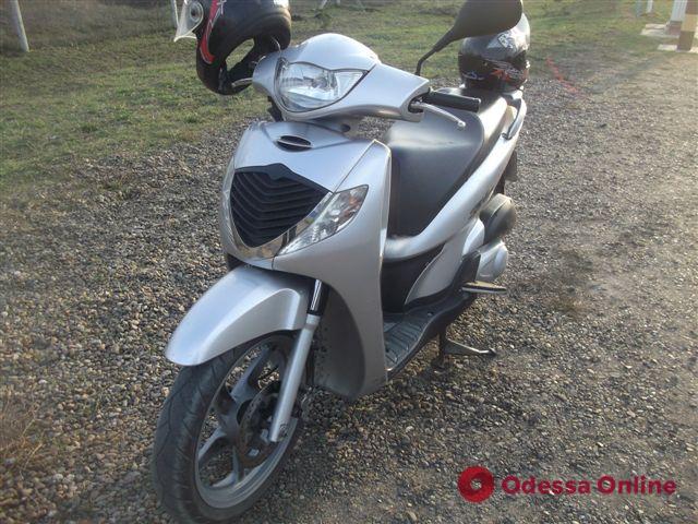 В Одесской области нашли угнанный в Италии мотоцикл