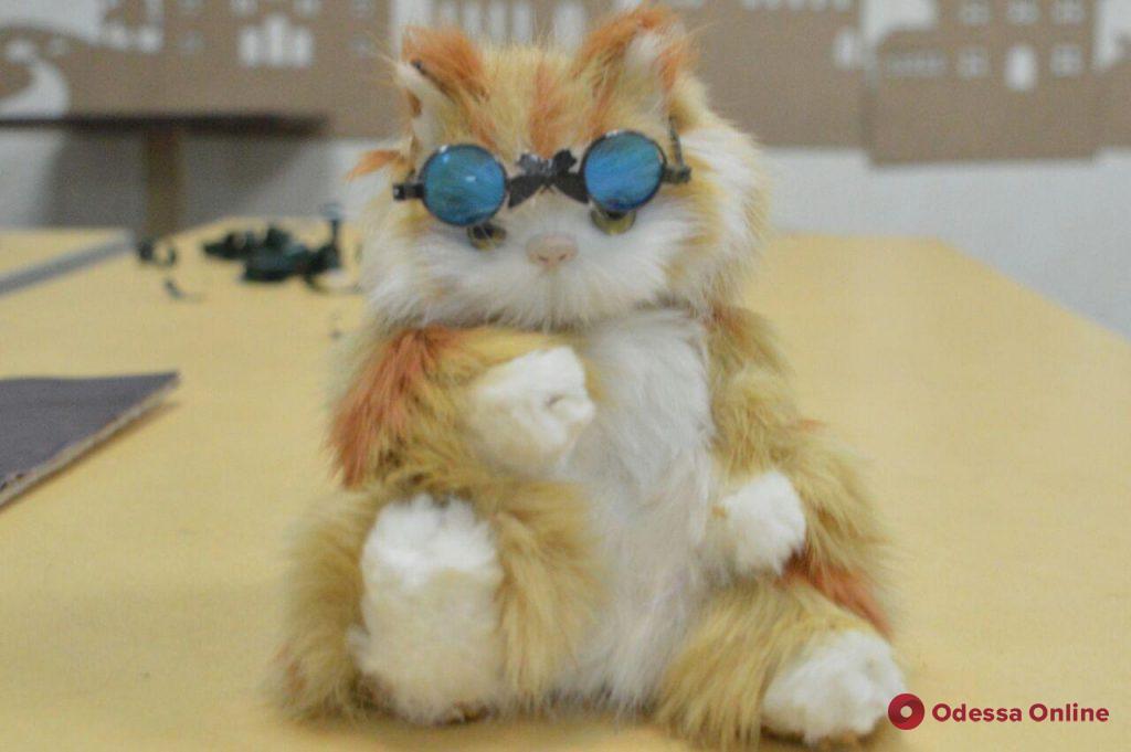 В Одессе открылась необычная котовыставка