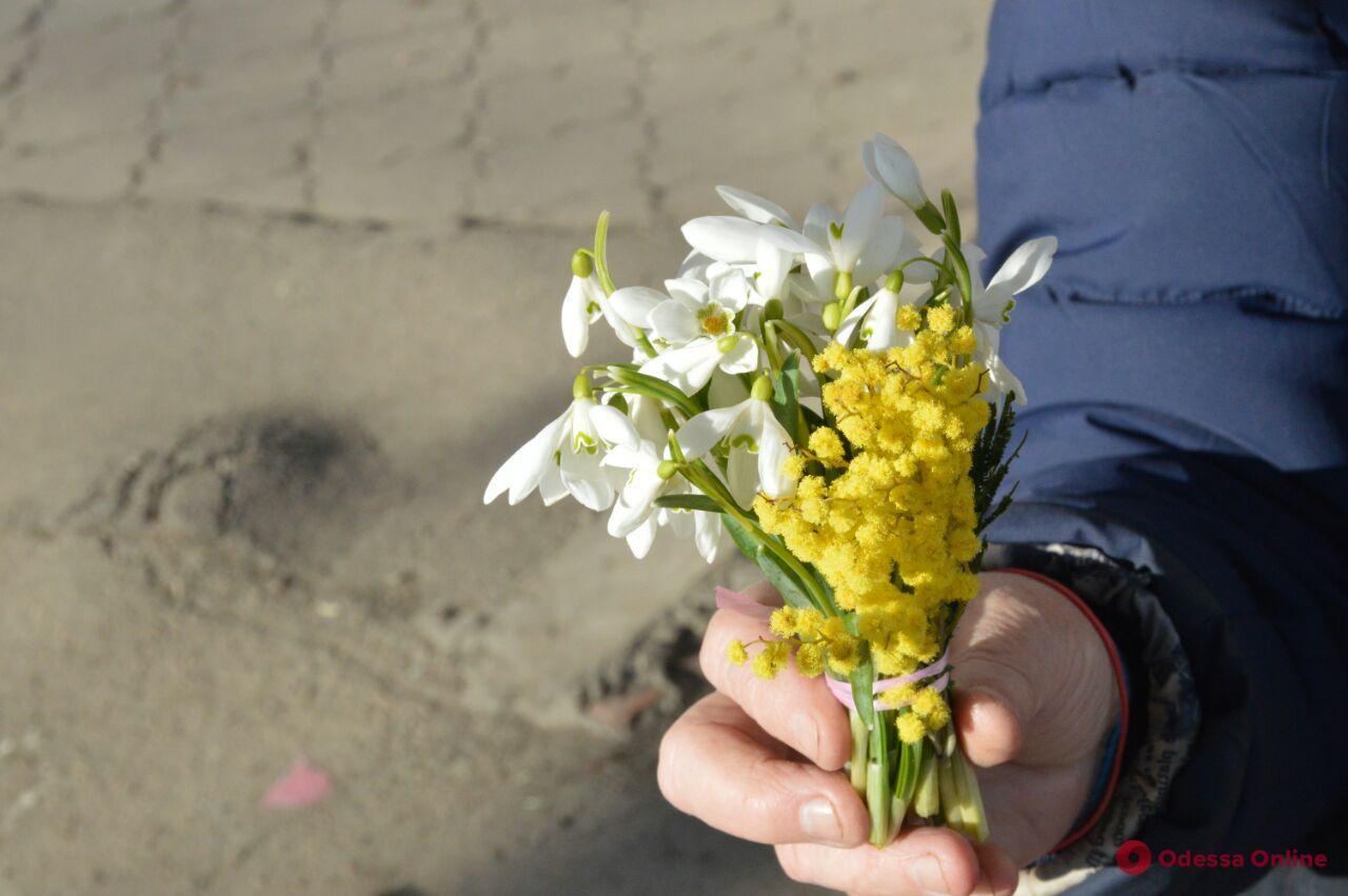 «Цветочный забег» стартовал: во сколько одесситам обойдутся букеты к 8 марта