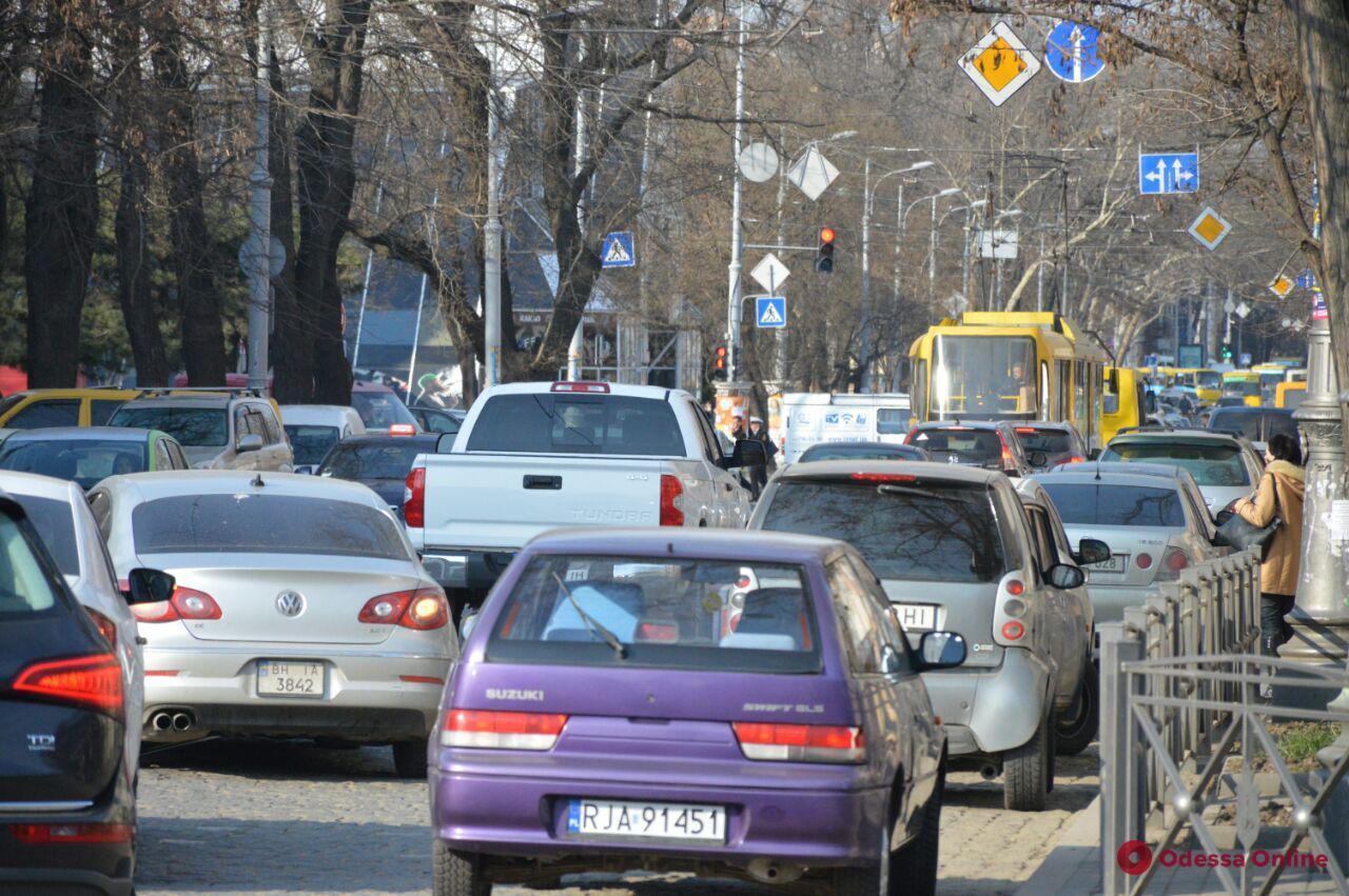 Одесские пробки: долгий путь из Таирова в центр