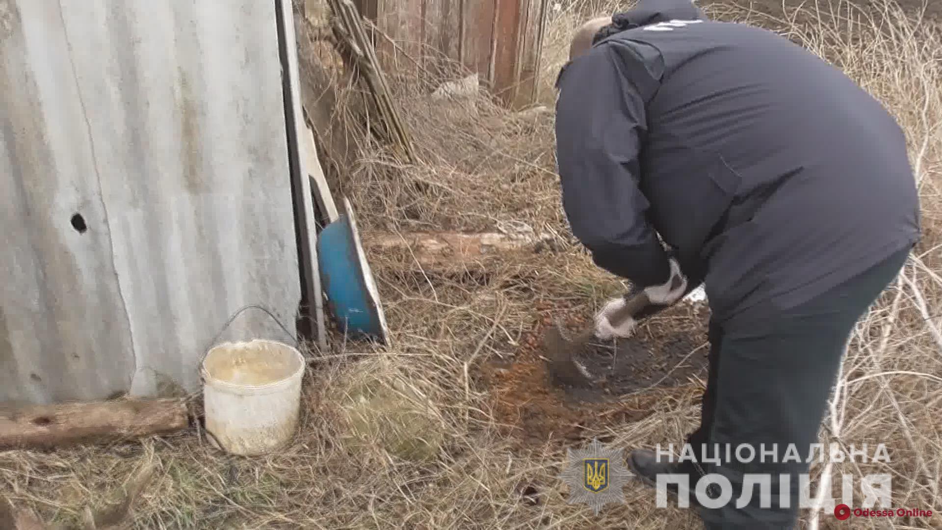 Жительница Одесской области живьем закопала новорожденную дочь