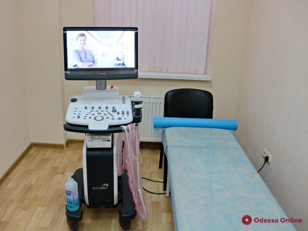Для одесской поликлиники приобрели современное оборудование