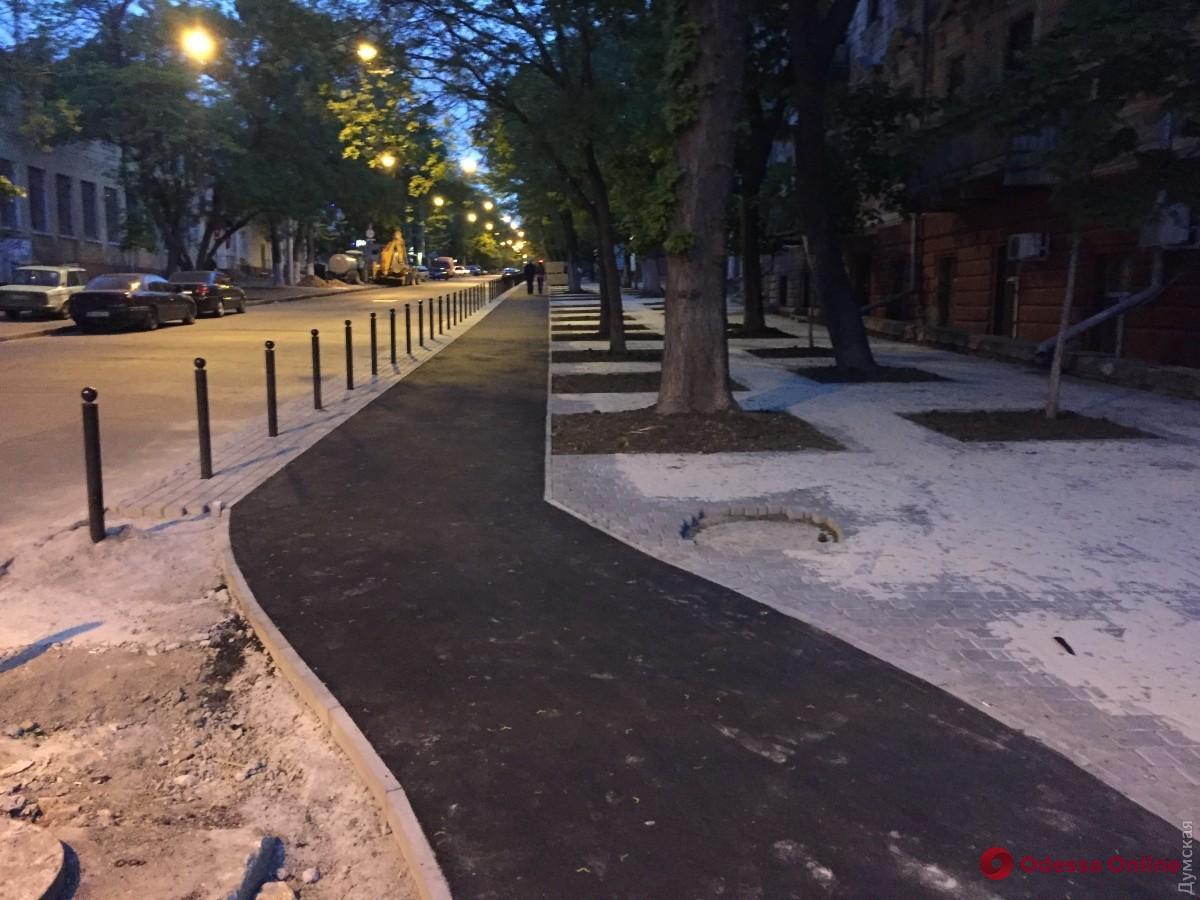 В прошлом году в Одессе восстановили полмиллиона квадратных метров дорог