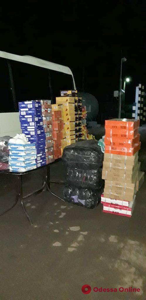 В Одесской области обнаружили контрабанду на четверть миллиона