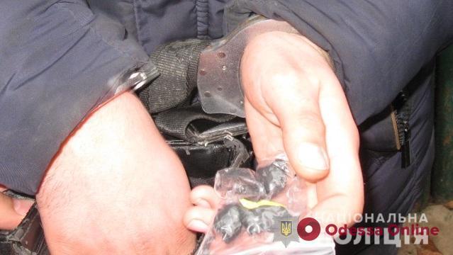 В Одессе поймали очередного закладчика наркотиков