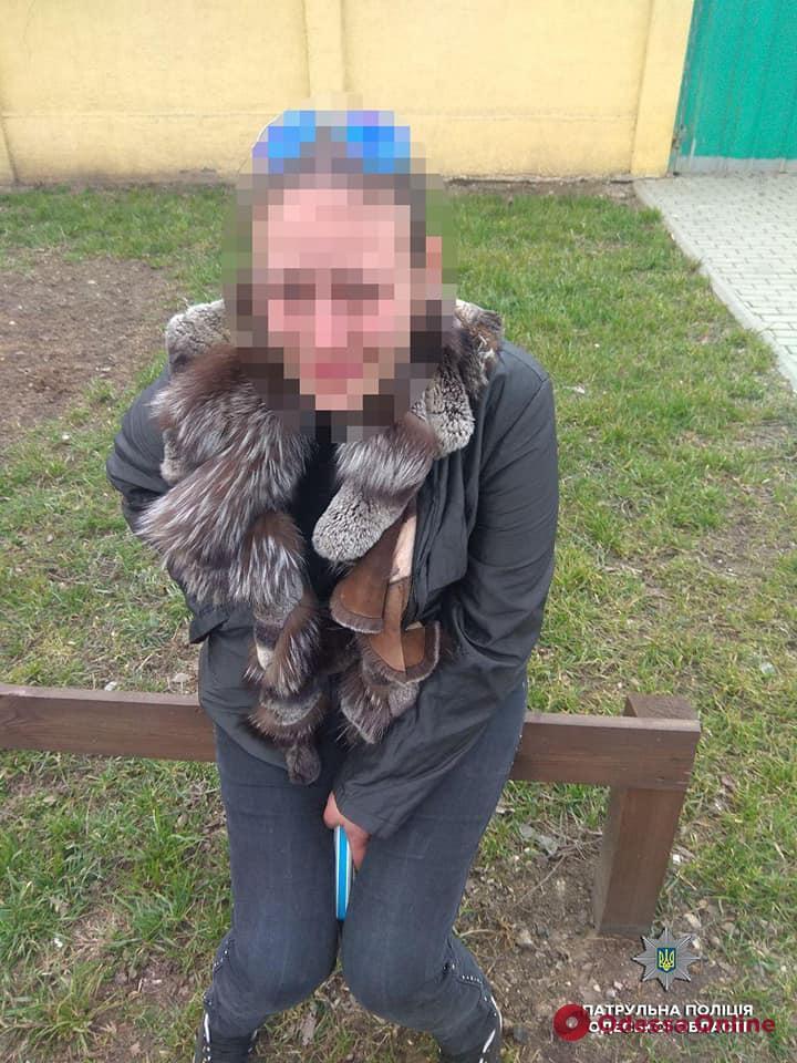В Одессе попалась «закладчица» с товаром