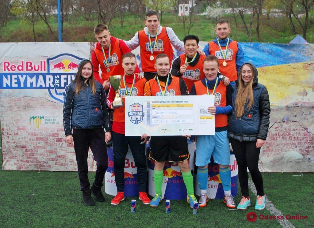 В Одессе прошел отборочный этап всемирно известного футбольного турнира «Red Bull Neymar Jr's Five»