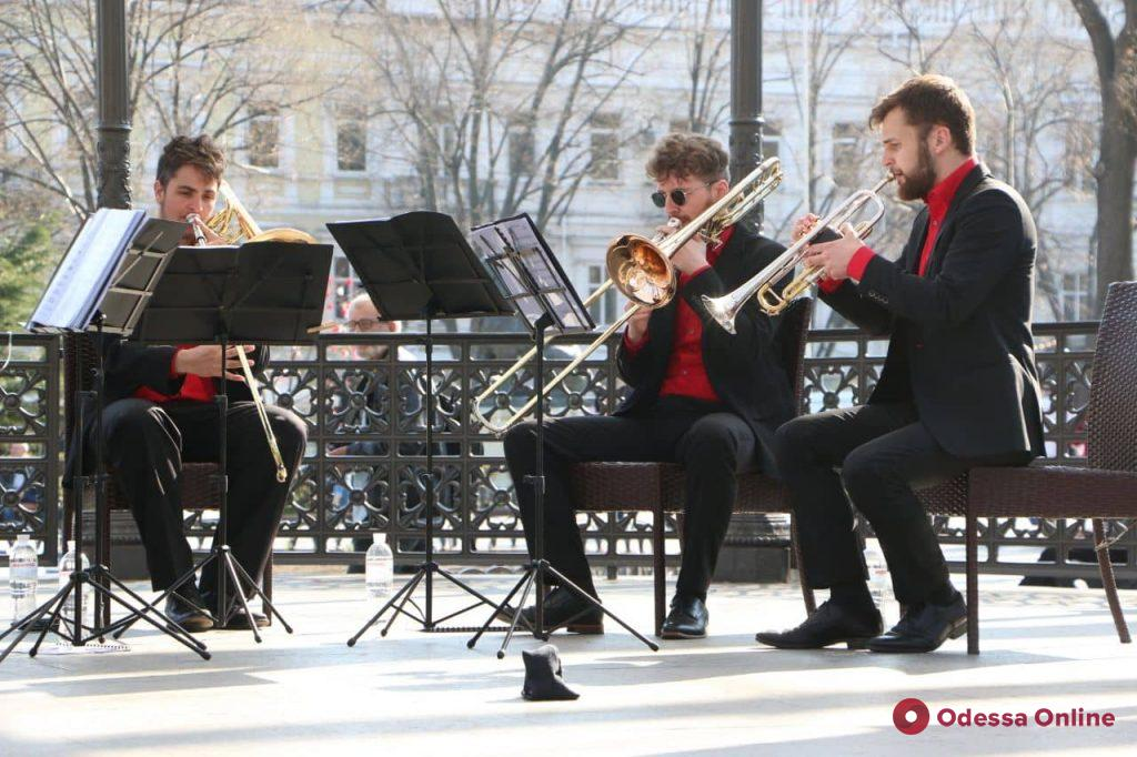 В Одессе стартовал фестиваль духовой музыки (фото, видео)