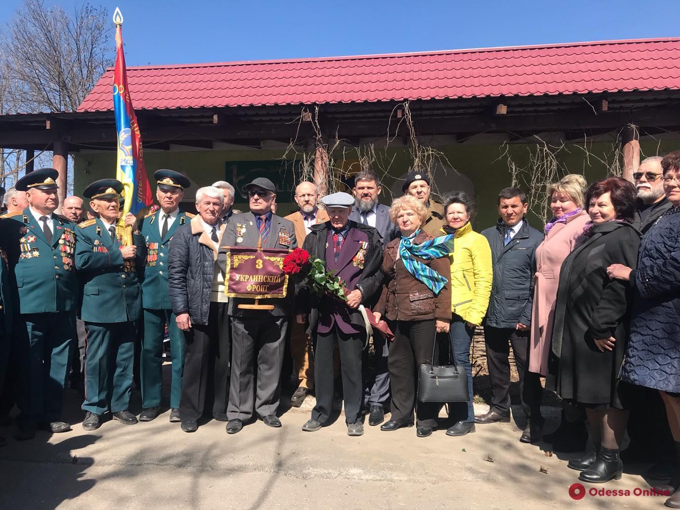 Одесская область приняла эстафету памяти «Слава освободителям Украины»
