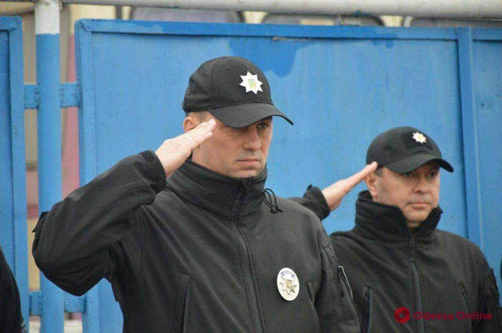 В Одессе отметили пятилетие батальона «Шторм»