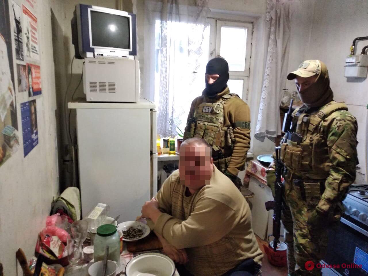 В Одессе поймали очередного интернет-агитатора