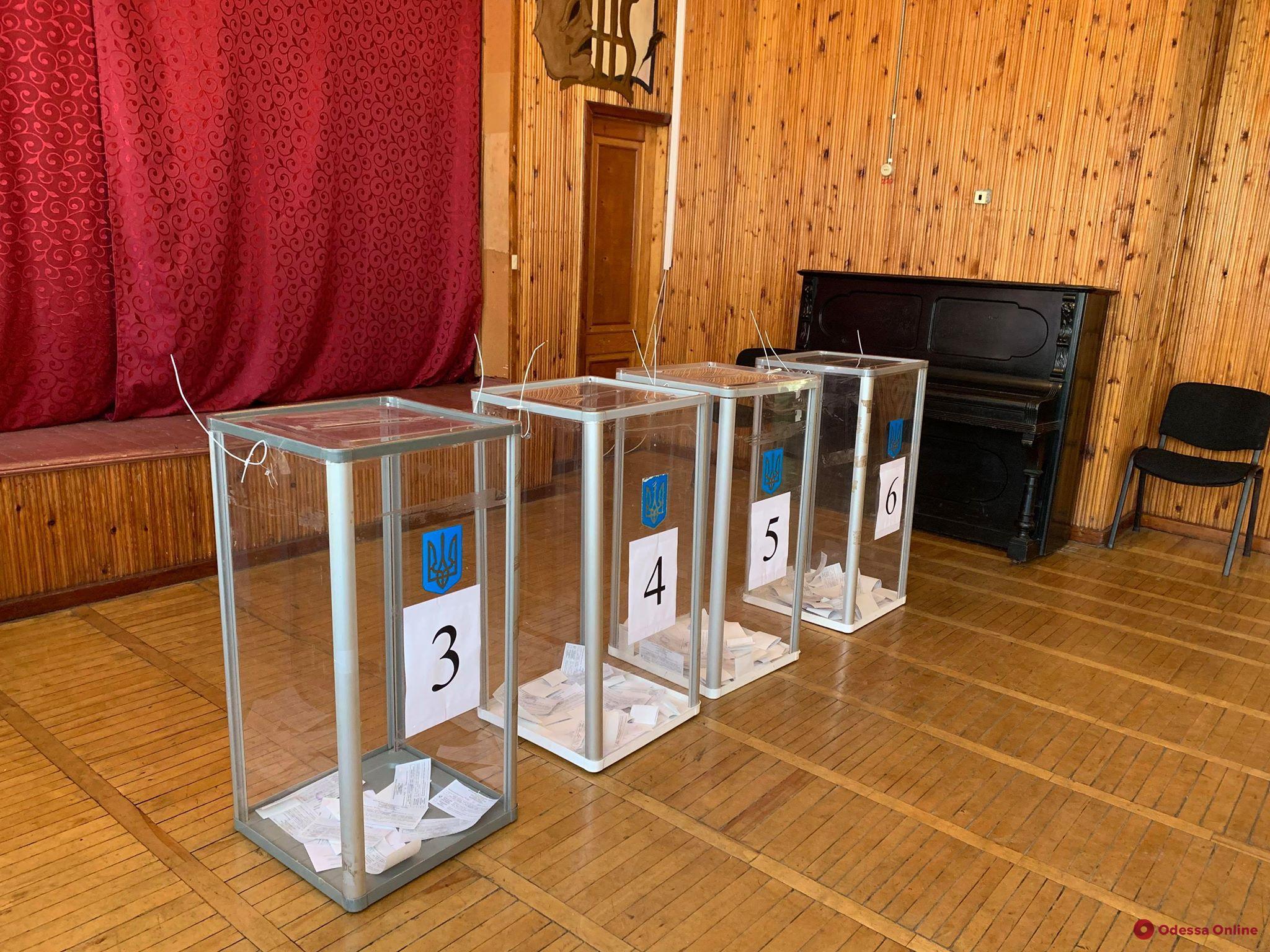 Одесская ТИК обработала более половины протоколов по выборам в райсовет и облсовет