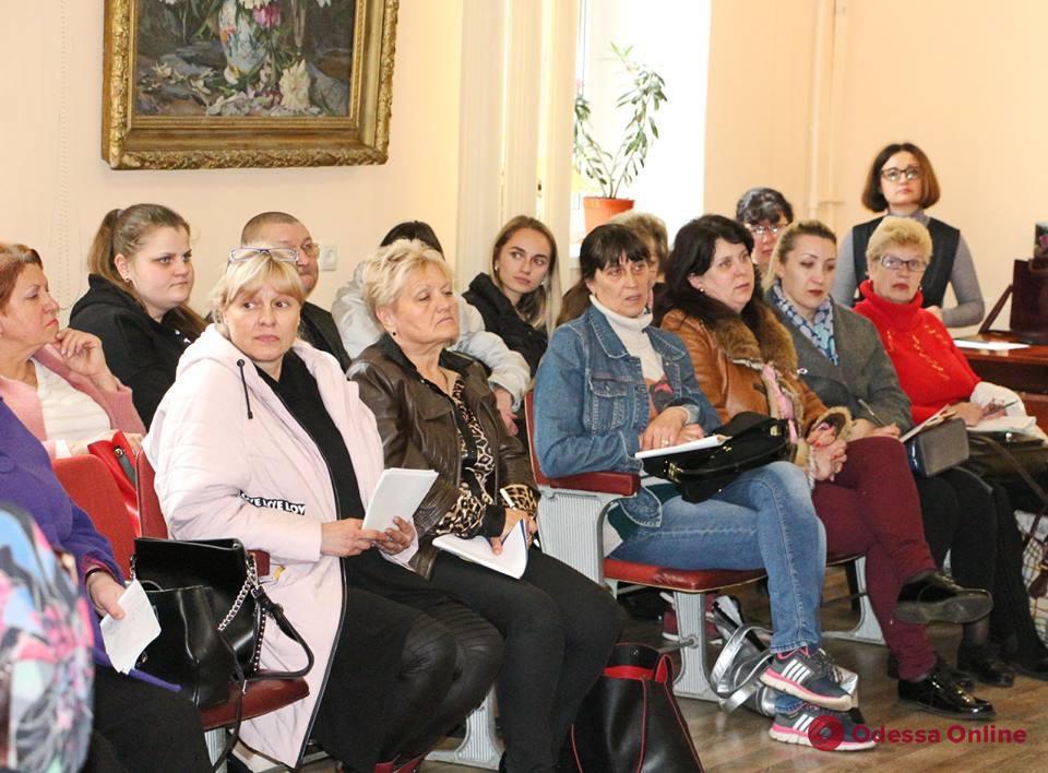 Медсестер одесских школ учат дружественному подходу