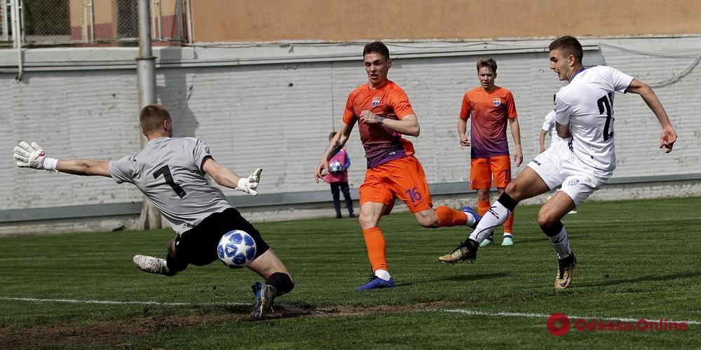 Дубль «Черноморца» забил в ворота соперника семь мячей