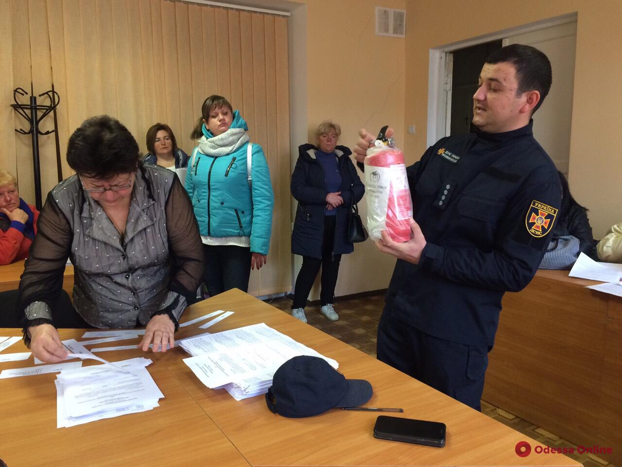 Спасатели готовятся ко второму туру выборов в Одесской области