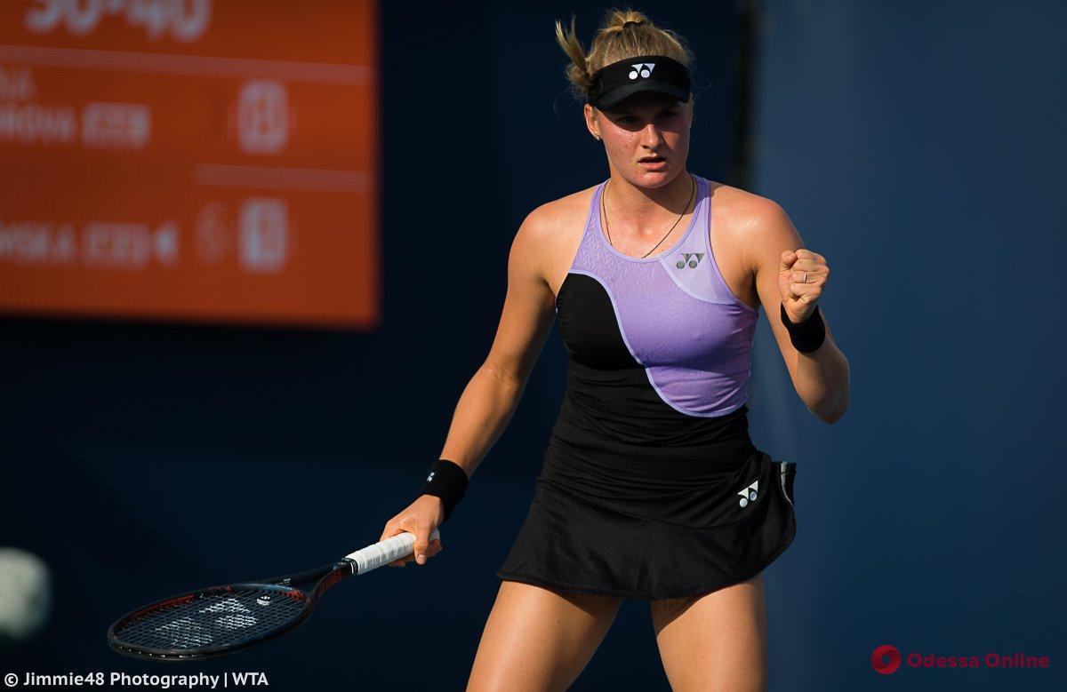 Теннис: юная одесситка удачно стартовала в престижном турнире в Китае