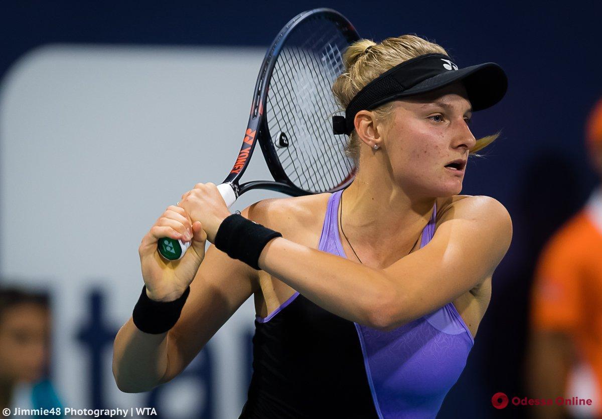 Одесская теннисистка неожиданно снялась с турнира в Великобритании